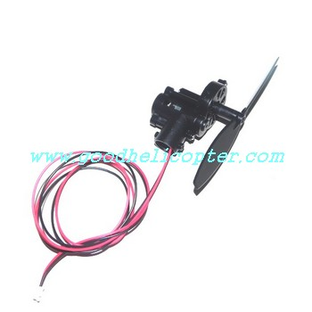 mingji-802-802a-802b helicopter parts tail motor + tail motor deck + tail blade
