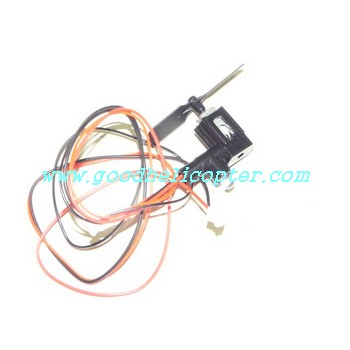 borong-br6008 helicopter parts tail motor + tail motor deck + tail blade + tail light