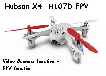 The Hubsan X4 H107D FPV Parts