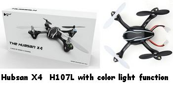 The Hubsan X4 H107L Parts