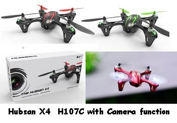 The Hubsan X4 H107C Parts