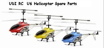 UDI RC U6 Helicopter Spare Parts
