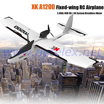 XK A1200 RC Airplane and Parts