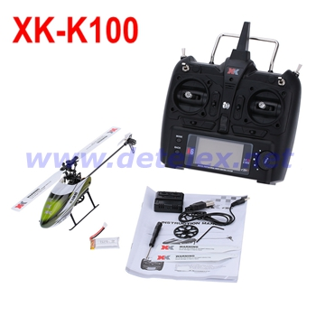 XK K100 Helicopter and Parts