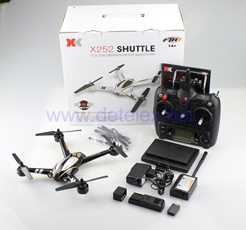 XK X252 SHUTTLE Drone and Parts