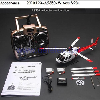 AS350 K123 Helicopter and Parts