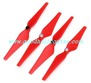 CX-20 quad copter parts CX-20-018 Red color Blades (2pcs clockwise + 2pcs anti-clockwise)