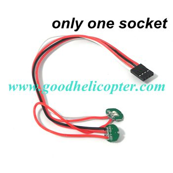 CX-20 quad copter parts LED light (only one socket)