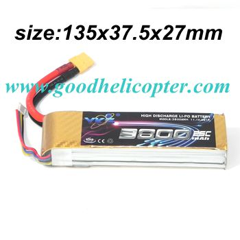 CX-20 quad copter parts CX-20-010 Upgrade battery 11.1V 3800mah