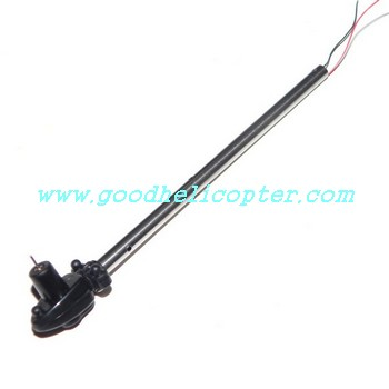 dfd-f101-f101a-f101b helicopter parts tail big boom + tail motor + tail motor deck
