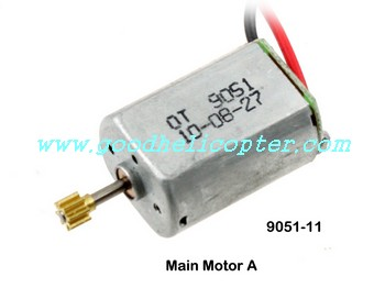 shuangma-9051 helicopter parts main motor with long shaft