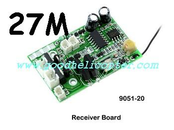 shuangma-9051 helicopter parts pcb board (27M)