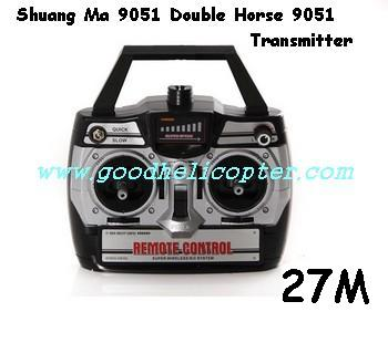 shuangma-9051 helicopter parts transmitter (27M)