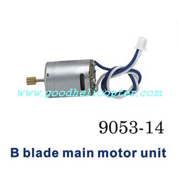 double-horse-9053/9053B helicopter parts main motor B with long shaft