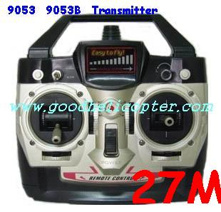 double-horse-9053/9053B helicopter parts transmitter (27M)