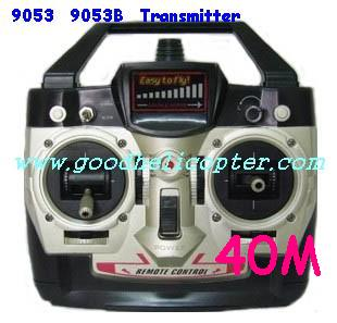 double-horse-9053/9053B helicopter parts transmitter (40M)