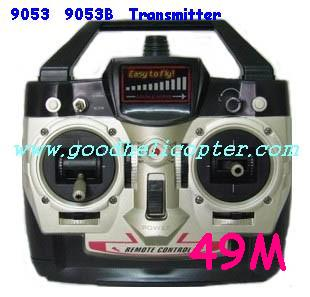 double-horse-9053/9053B helicopter parts transmitter (49M)