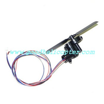 double-horse-9053/9053B helicopter parts tail motor + tail motor deck + tail blade + tail light