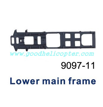double-horse-9097 helicopter parts bottom board