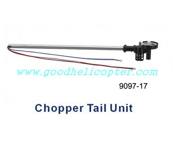 double-horse-9097 helicopter parts chopper tail unit