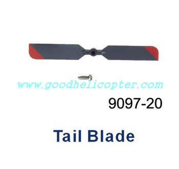 double-horse-9097 helicopter parts tail blade