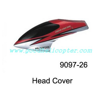 double-horse-9097 helicopter parts head cover