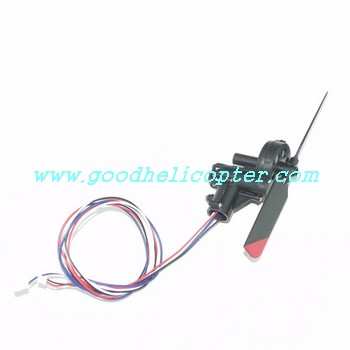 double-horse-9097 helicopter parts tail motor + tail motor deck + tail blade + tail light