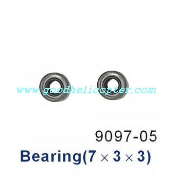 double-horse-9097 helicopter parts small bearing