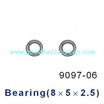 double-horse-9097 helicopter parts big bearing