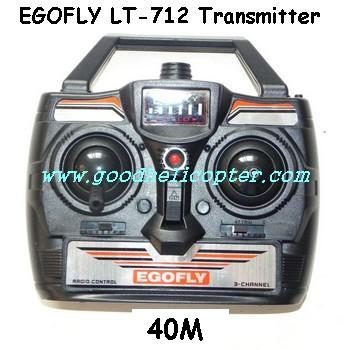egofly-lt-712 helicopter parts transmitter (40M)