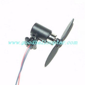 fq777-138/fq777-138a helicopter parts tail motor + tail motor deck + tail blade + tail light