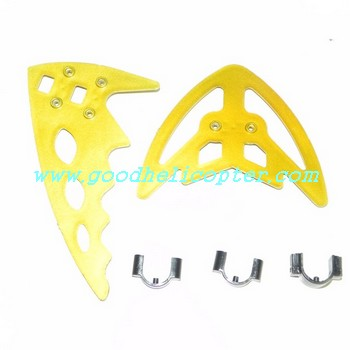fq777-999-fq777-999a helicopter parts tail decoration set (golden color)