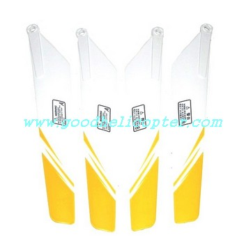 hcw8500-8501 helicopter parts main blades (yellow-white color)