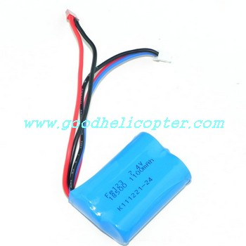 HuanQi-823-823A-823B helicopter parts battery 7.4V 1100mAh JST plug