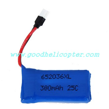 HUBSAN-X4-H107D Quadcopter parts battery (3.7V 380mAh)