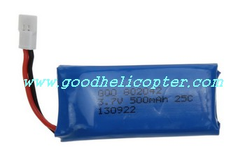 HUBSAN-X4-H107D Quadcopter parts battery (3.7V 500mAh)