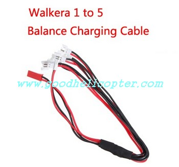 HUBSAN-X4-H107D Quadcopter parts walkera 1 to 5 balance charging cable 9128
