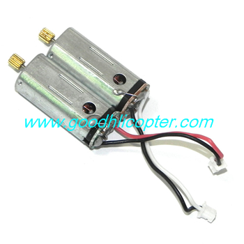 JJRC X6 H16 H16C YiZhan Headless quadcopter parts Main motor (1pc red-blue + 1pc black-white)