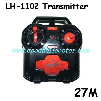lh-1102 helicopter parts transmitter (27M)