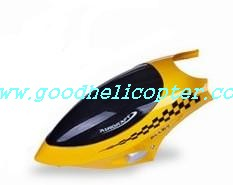 lh-1102 helicopter parts head cover (yellow color)