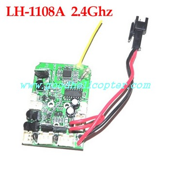 lh-1108_lh-1108a_lh-1108c helicopter parts 2.4G pcb board for lh-1108a