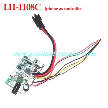 lh-1108_lh-1108a_lh-1108c helicopter parts pcb board for lh-1108c (iphone as transmitter)
