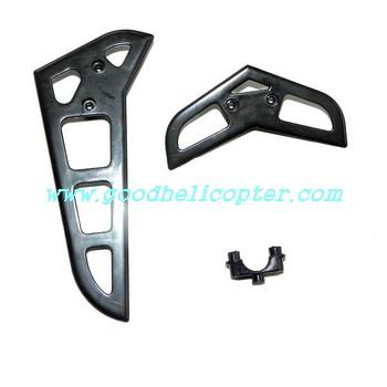 mjx-f-series-f46-f646 helicopter parts tail decoration set