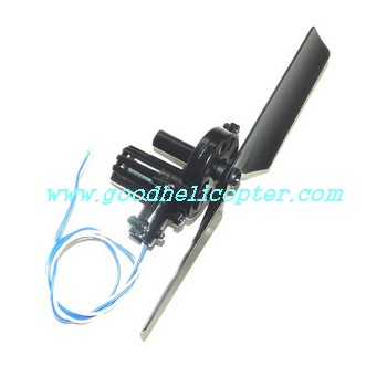 mjx-f-series-f46-f646 helicopter parts tail motor + tail motor deck + tail blade
