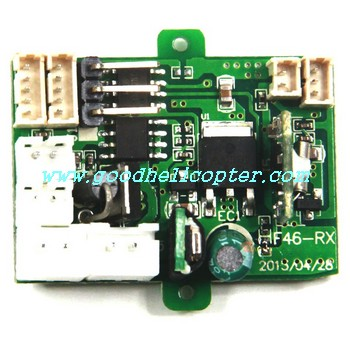 mjx-f-series-f46-f646 helicopter parts pcb board