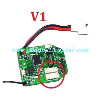 mjx-f-series-f47-f647 helicopter parts V1 pcb board (old version)