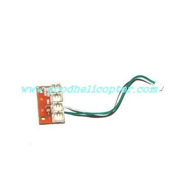 mjx-t-series-t04-t604 helicopter parts wire plug board