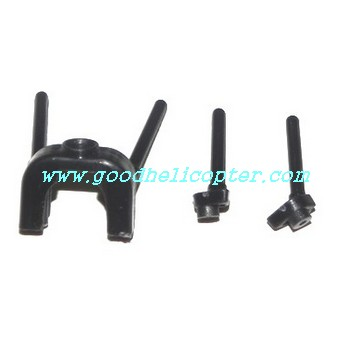 mjx-t-series-t04-t604 helicopter parts fixed set for tail decoration set and tail support pipe
