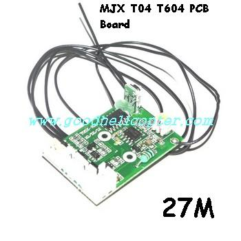 mjx-t-series-t04-t604 helicopter parts pcb board (27M)
