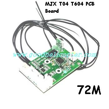 mjx-t-series-t04-t604 helicopter parts pcb board (72M)